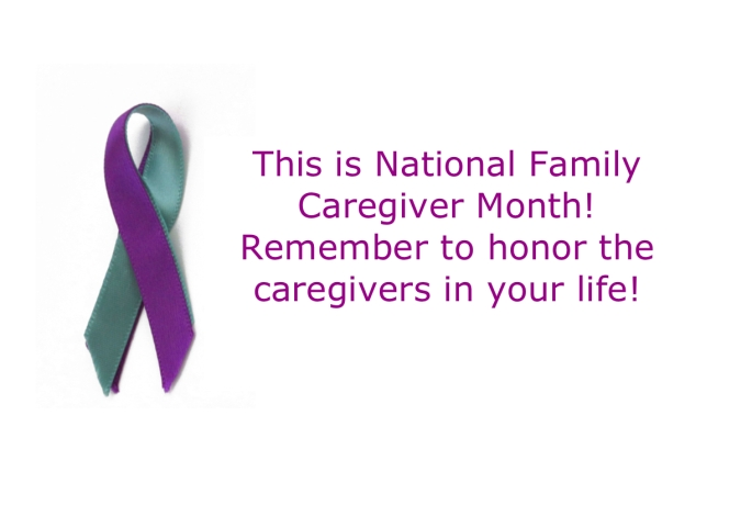 caregivers month